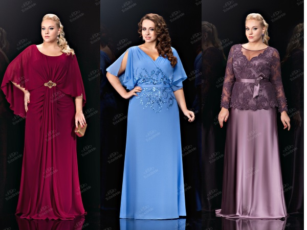 вечерние платья для полных To be bride