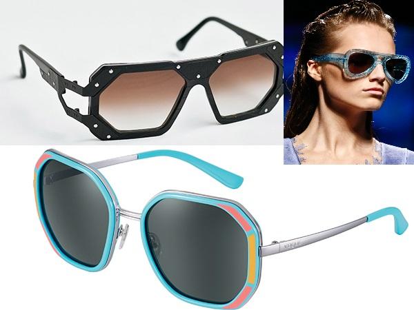 очки необычной формы