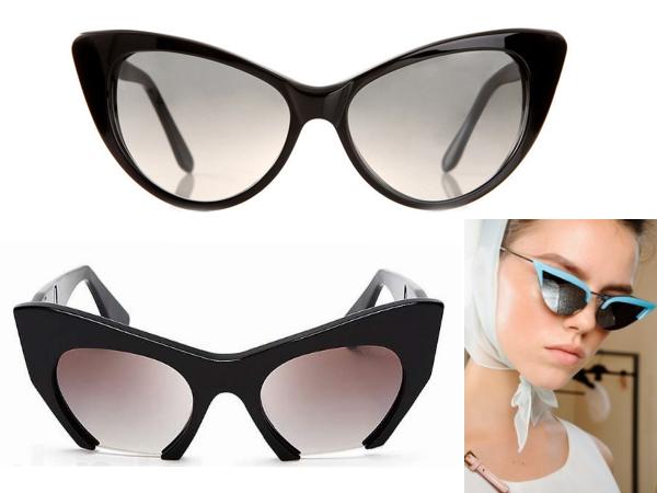 очки -кошачий глаз