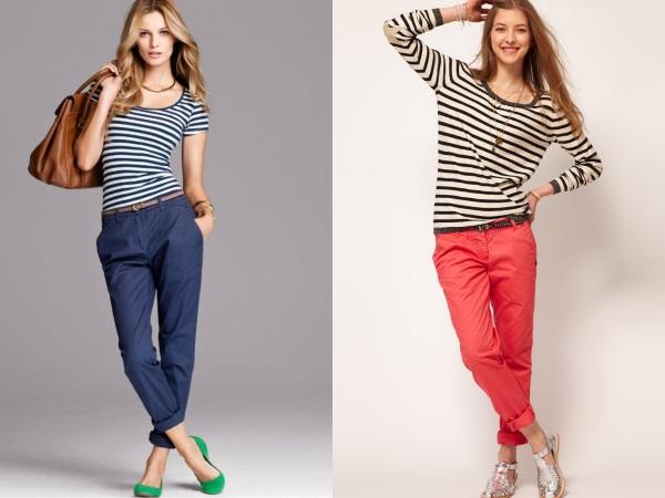 брюки- чиносы разных цветов