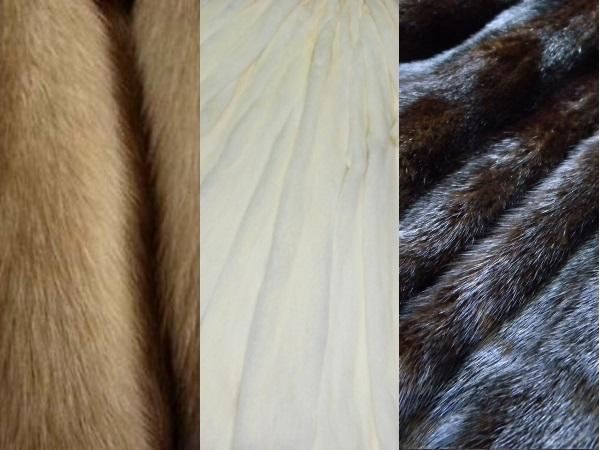 Натуральный цвета меха норки