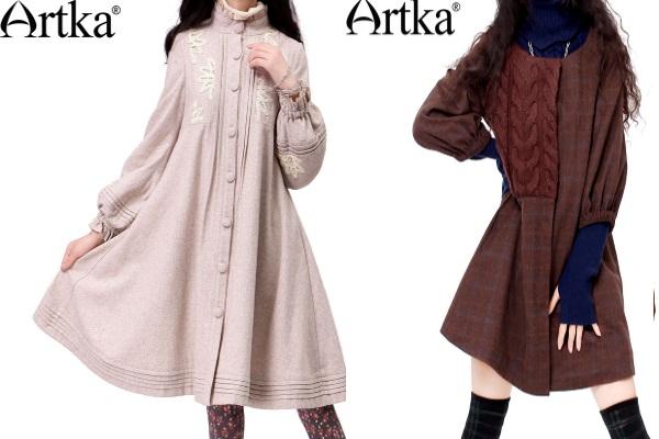 Пальто Артка, бахо-стиль