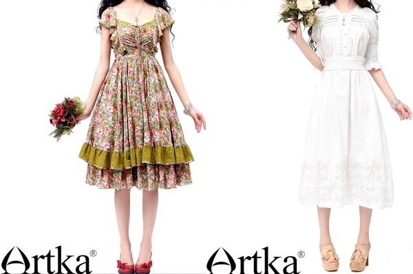 Платья летние Артка