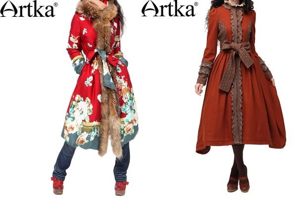 Шикарные пальто от Арка