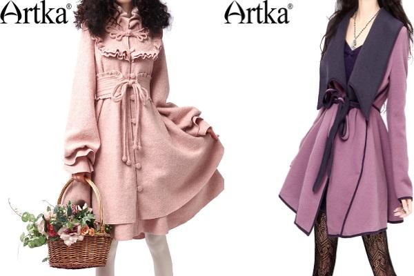 Стильные пальто от Арка